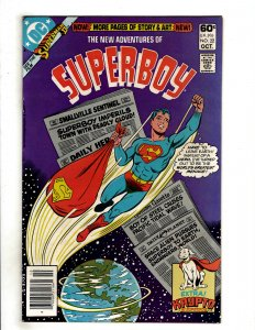 The New Adventures of Superboy #22 (1981) DC Comic Superman OF8