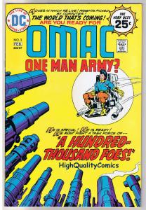 OMAC #3, FN+, Jack Kirby, One Man Army Corp, 1974,more JK in store,Bronze age