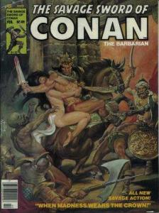 Savage Sword of Conan (1974 series) #49, Fine- (Stock photo)