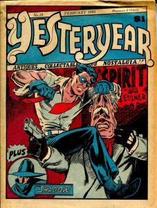 Yesteryear #59 1980-Denis Kitchen-Spirit cover & feature-newspaper format-G