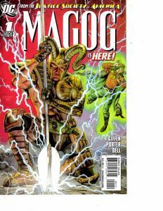 Lot Of 2 Comic Books DC Magoc #1 and Omac Project #1 Batman LH17