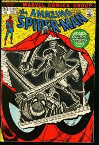 AMAZING SPIDER-MAN #113-MARVEL COMICS-DOCTOR OCTOPUS-nice high grade-vf VF