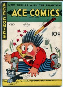 ACE COMICS #57 1941-DAVID MCKAY-PHANTOM-PRINCE VALIANT-BLONDIE-HAL FOSTER-fn/vf