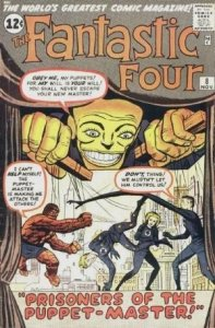 Fantastic Four #8 (ungraded) stock photo / SCM