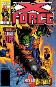X-Force #83 FN; Marvel   save on shipping - details inside