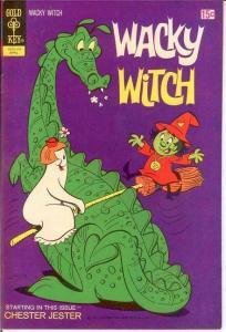 WACKY WITCH (1971-1975 GK) 6 VF-NM   April 1972 COMICS BOOK