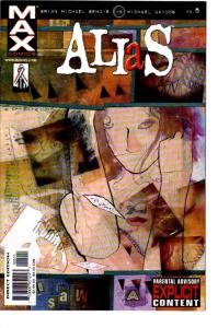 ALIAS #3,5 #3 SIGNED BY BENDIS $22.00
