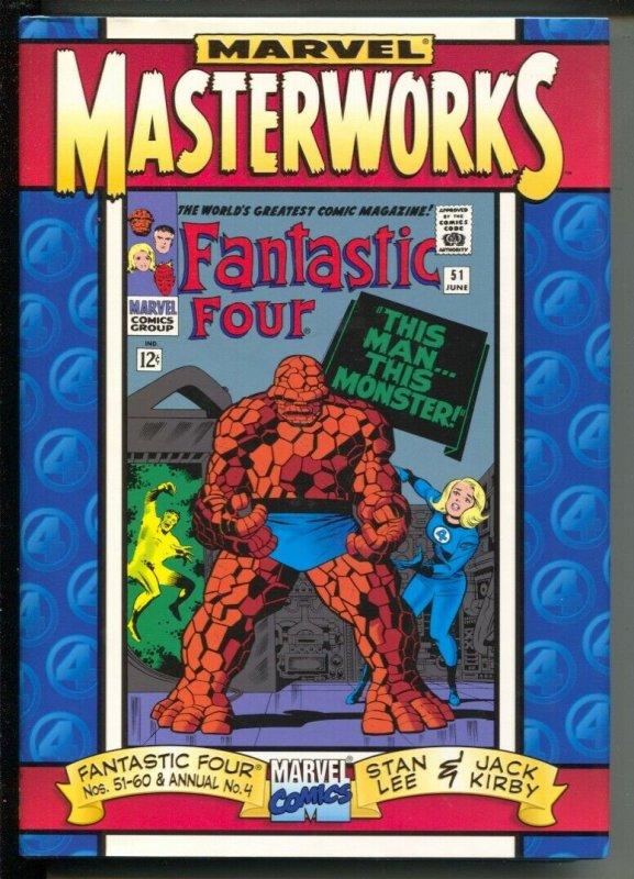 Marvel Masterworks The Fantastic Four-#51-60-Annual 4-Stan Lee-2000-HC-VG/FN