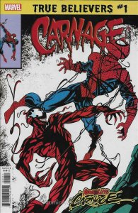 True Believers: Absolute Carnage—Carnage #1 VF; Marvel   save on shipping - deta