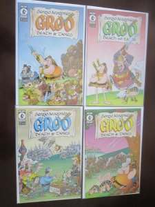 Groo Death and Taxes #1-4 (2001) VF 8.0