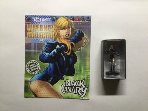 Black Canary Super Hero Collection Figure and Magazine Dc Eaglemoss