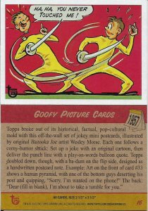 2013 Topps 75th Anniversary #16 Goofy Picture Cards > 1957