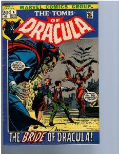 Tomb of Dracula #4 (1972) FN-