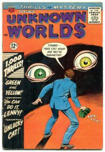 Unknown Worlds #31 1964- ACG Silver Age- eyeball cover VG+