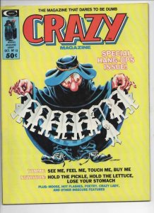 CRAZY #13 Magazine, FN, Tommy, Hang Ups, 1973 1975, more in store