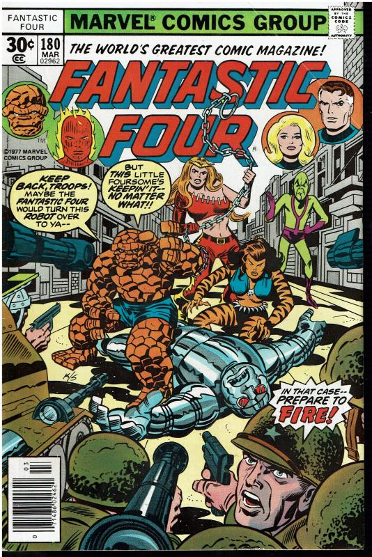 Fantastic Four #180, 5.0 or Better