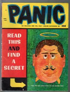 Panic #12 1966-MAD imitator-Bob Powell-Don Orheck0parody humor-VG