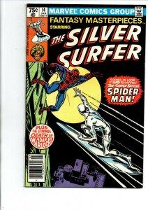 Fantasy Masterpieces #14 - Silver Surfer vs Spider-man - 1981 - Fine