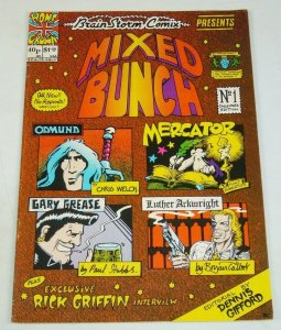 Brain Storm Fantasy #3 FN mixed bunch - 1st appearance of Luther Arkwright 1976