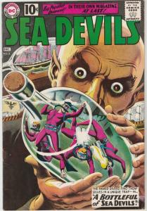 Sea Devils #2 (Dec-61) FN/VF+ High-Grade Sea Devils (Dane Dorrence, Biff Bail...