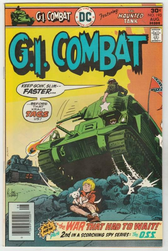 G.I. Combat #193 (Aug-76) NM/NM- High-Grade The Haunted Tank