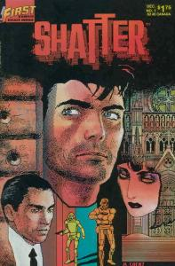 Shatter (2nd series) #1 VF/NM; First | save on shipping - details inside