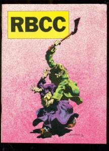 ROCKET'S BLAST AND COMICOLLECTOR FANZINE #125-WRIGHTSON VG/FN