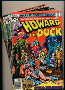 MARVEL LOT of 7-HOWARD THE DUCK #24, #23,25-29 1977/'78 VERY GOOD/FINE (PJ89)