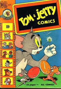 TOM & JERRY #74 M-G-M CARTOON 1950 EGYPTIAN COLLECTION VG