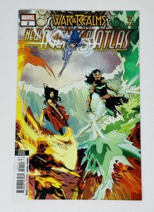 WAR OF THE REALMS NEW AGENTS OF ATLAS #2 2ND PRINTING