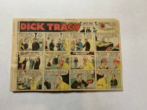 Dick Tracy Newspaper Comics Sundays 1956 Complete Year 53 Total Great Shape!