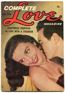 Complete Love #180 1954- Ace Golden Age Romance Comic- Lingerie panels VG+