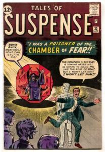 Tales Of Suspense #33 1962-MARVEL-Kirby Ditko Pre-hero VG/F