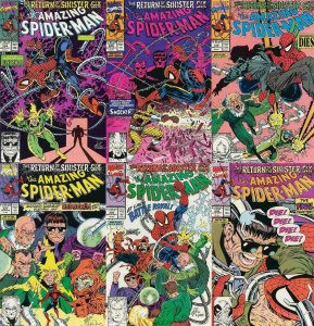 SPIDERMAN 334-339  Return of the Sinister Six