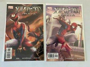 Spider-Man India #1+2 8.0 VF (2005)