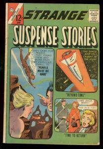 STRANGE SUSPENSE STORIES #65 1963-CHARLTON-ROCKET COVER VG/FN