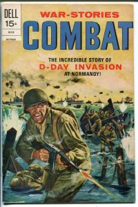 Combat #37 1972-Dell-Sam Glanzman art-WWII-D-Day invasion-VF