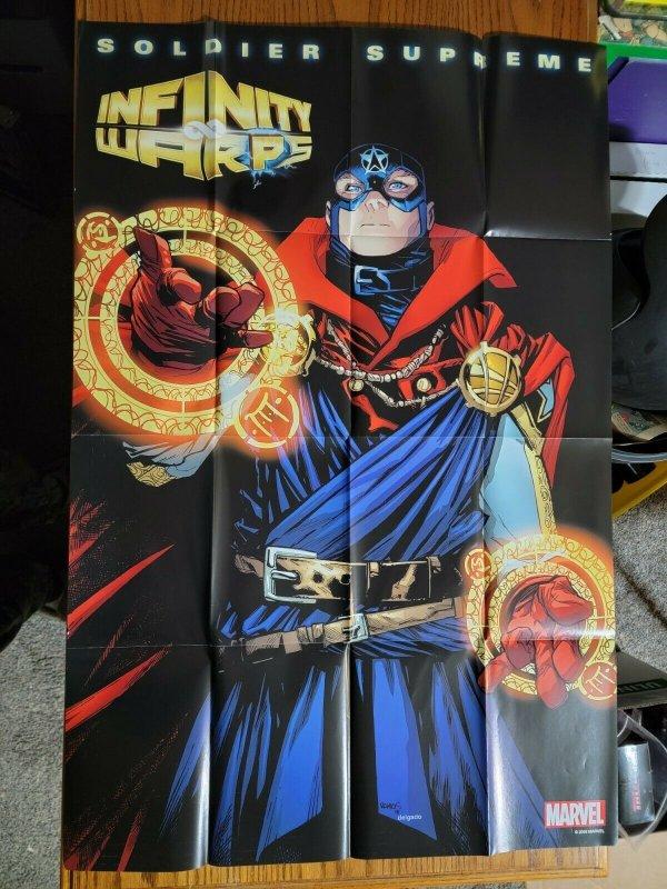 LARGE 36 x 24 Soldier Supreme Infinity Warps Promo Poster