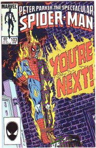 Spider-Man, Peter Parker Spectacular #103 (Jun-85) NM/NM- High-Grade Spider-Man