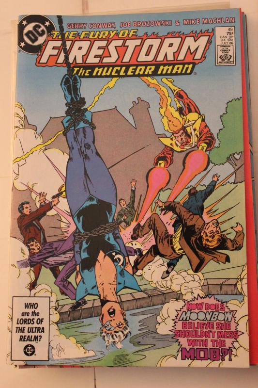 The Fury of Firestorm  49 9-0-vf-nm