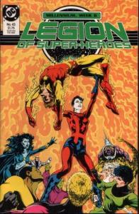 Legion of Super-Heroes (1984 series) #43, NM (Stock photo)