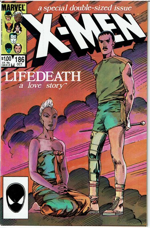 X-Men #186, 9.4 or better