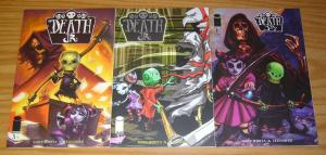 Death Jr. vol. 2 #1-3 VF/NM complete series - ted naifeh - gary whitta - image