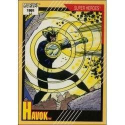 1991 Impel Marvel Universe: Series 2 HAVOK #27