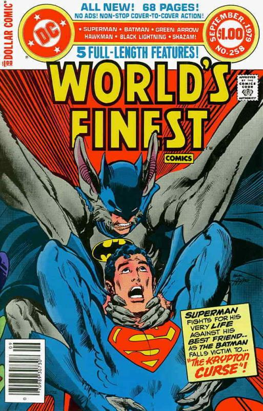 World's Finest Comics #258 FN; DC | save on shipping - details inside