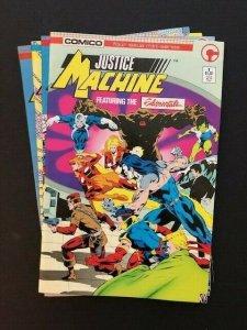 Comico JUSTICE MACHINE Complete Mini-Series #1-4 VF (A186)