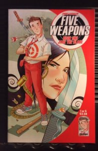 Five Weapons #1 (2013)