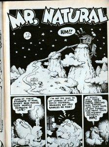 ZAP COMIX # 2(1st Printing) Robert Crumb's Mr. Natural Appearance