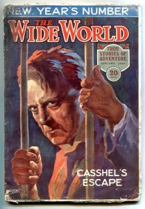 The Wide World Pulp January 1926- Phantom Reporter- VG