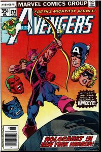 Avengers #172, 8.0 or Better